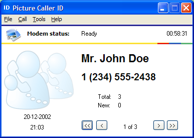Picture Caller ID Screenshot