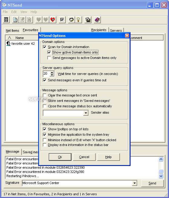 NTSend Screenshot 3