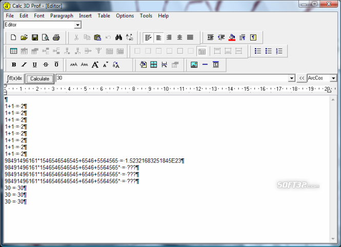 Calc 3D Pro Screenshot 2