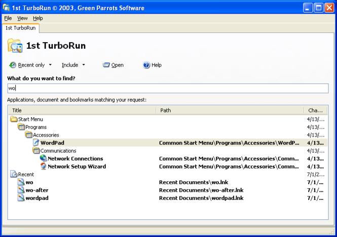 1st TurboRun Screenshot