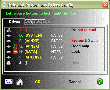 Hide & Protect any Drives Screenshot 3