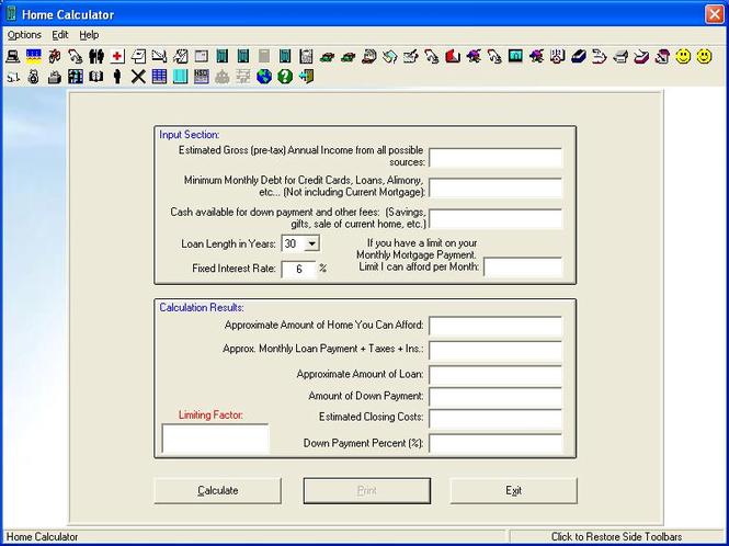 Home Data Deluxe Screenshot 1