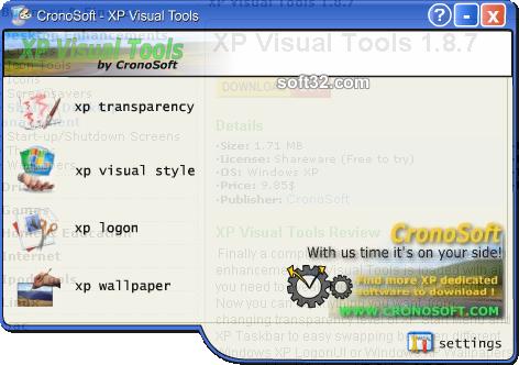 XP Visual Tools Screenshot 4