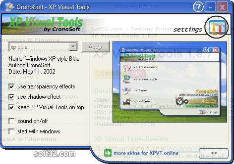 XP Visual Tools Screenshot 5