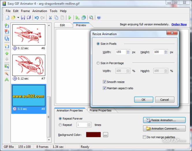 Easy GIF Animator Screenshot 7