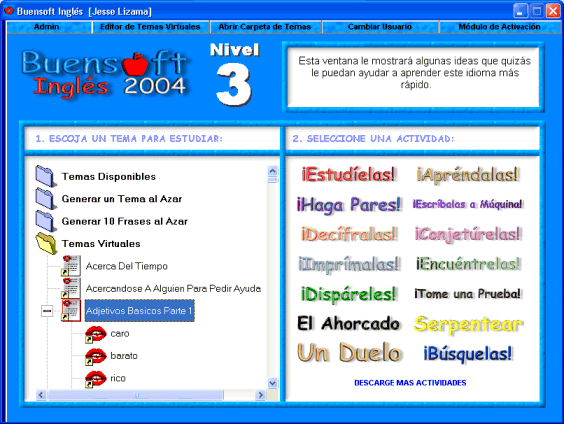 Buensoft Ingles Screenshot