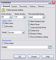 EyeShield Screenshot