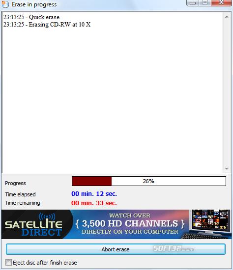 Burn4Free DVD Burning software Screenshot 7