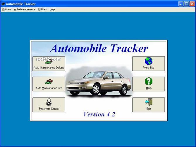 Automobile Tracker Screenshot 3