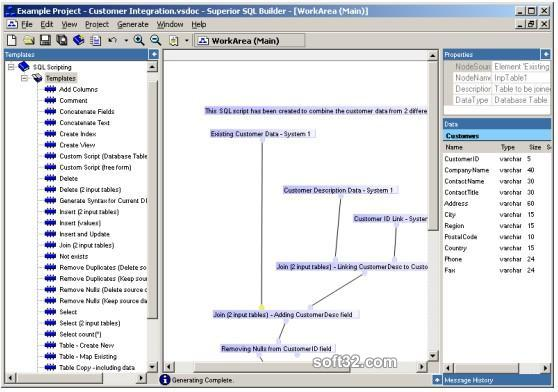 Superior SQL Builder Screenshot 1