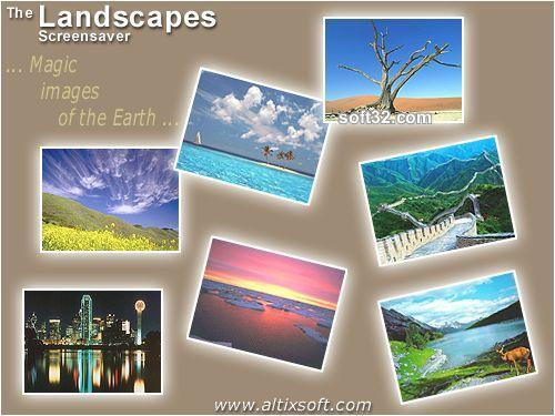 Landscapes Screensaver Screenshot 3