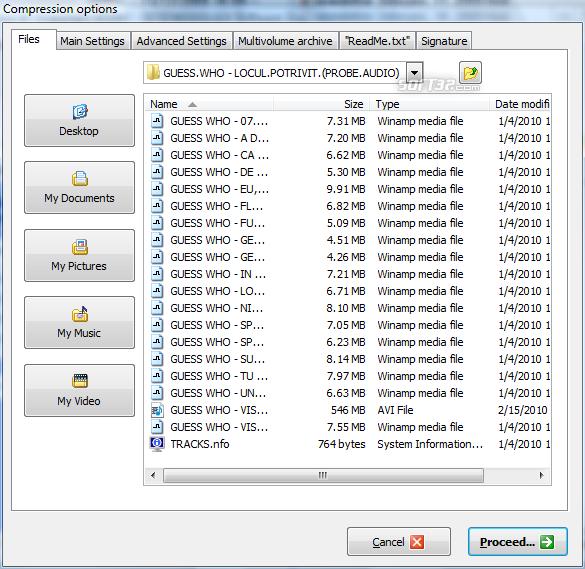 ZipGenius Screenshot 2