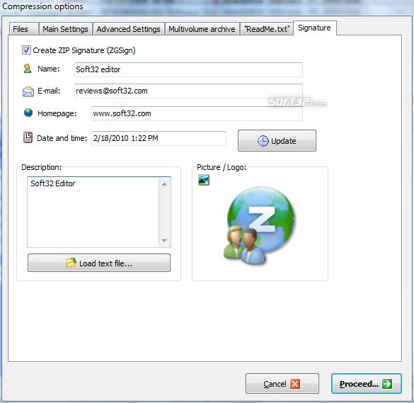 ZipGenius Screenshot 3