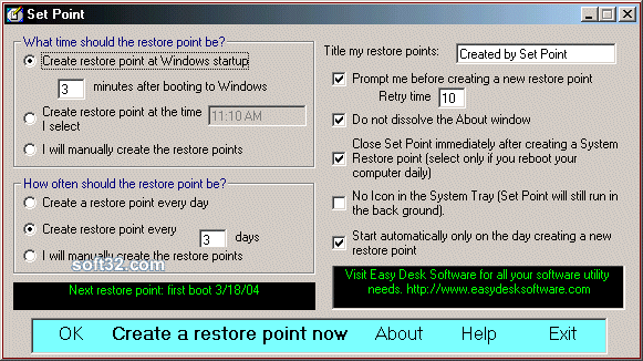 Set Point Screenshot 2