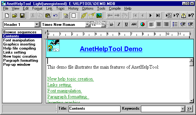 AnetHelpTool Screenshot 1
