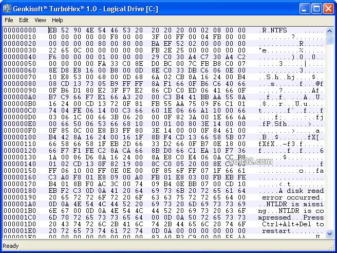 Genkisoft TurboHex Screenshot