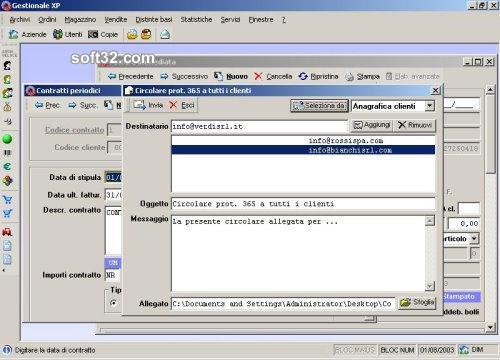 Gestionale XP Screenshot 2