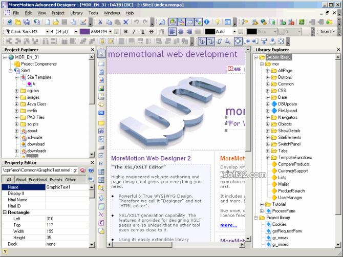MoreMotion Advanced Suite Screenshot 3