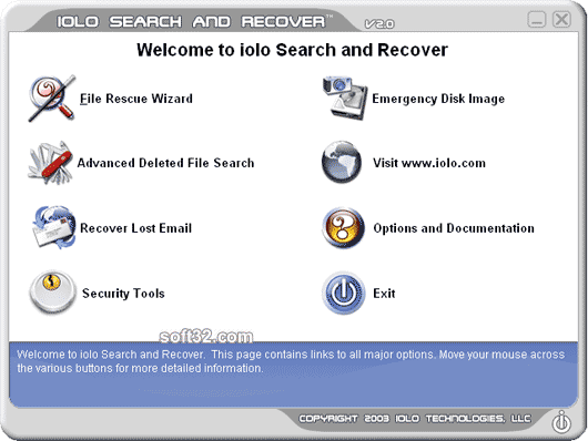 Search and Recover Screenshot 3