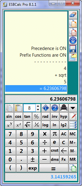 ESBCalc Pro - Scientific Calculator Screenshot