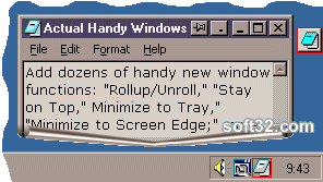 Actual Handy Windows Screenshot