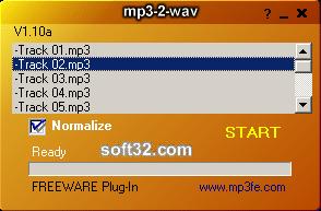 mp3-2-wav converter Screenshot 3