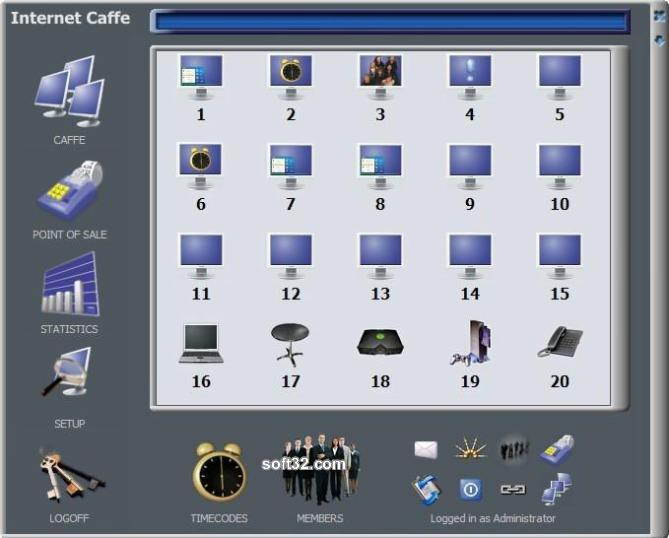 Cyber Internet Cafe Software Screenshot 2
