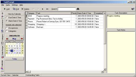 TaskPrompt Screenshot