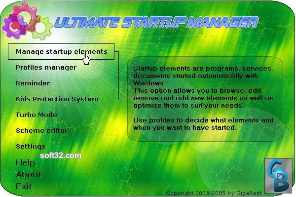 Ultimate Startup Manager for Windows Screenshot 3