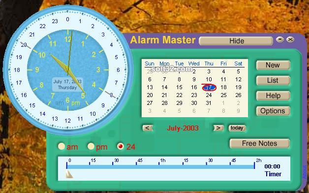 Alarm Master Screenshot 2