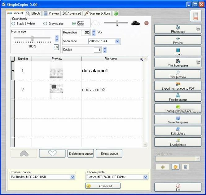 Photocopier Expert Screenshot 2