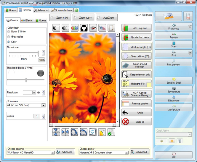 Photocopier Expert Screenshot 1
