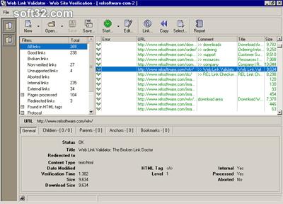 Web Link Validator Screenshot 2