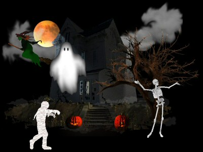Coolscreams A Halloween Screensaver Screenshot 1