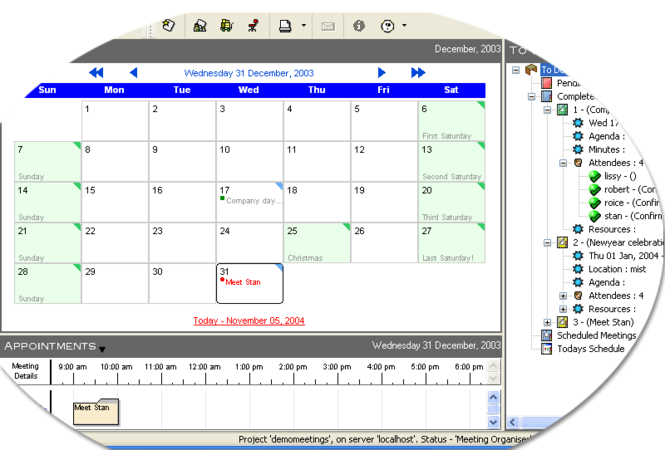 Meeting Manager Enterprise Screenshot