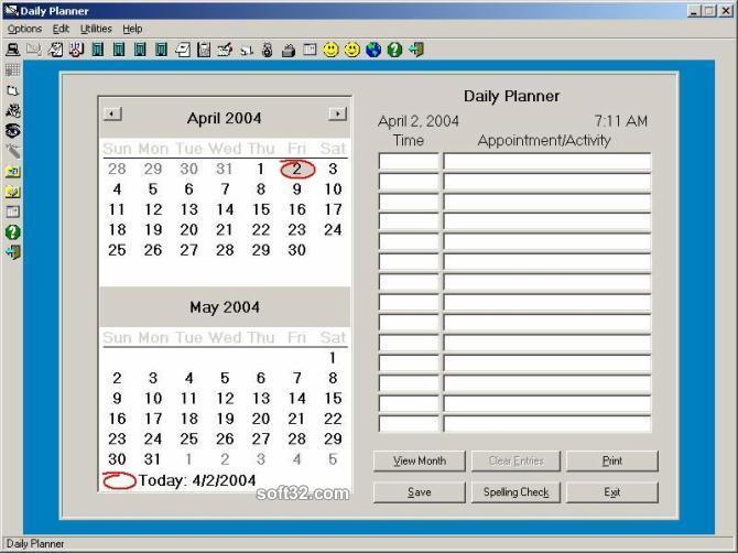 Daily Planner Plus Screenshot 2