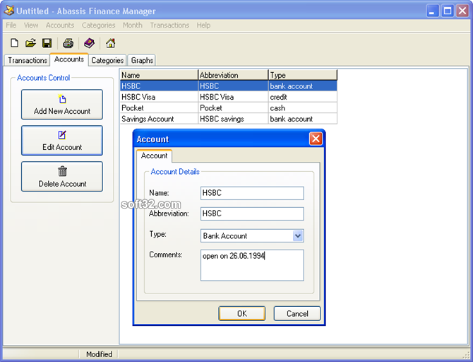 Abassis Finance Manager Screenshot 3