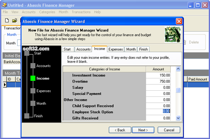 Abassis Finance Manager Screenshot 5