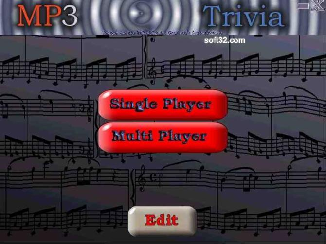MP3 Trivia Screenshot 1