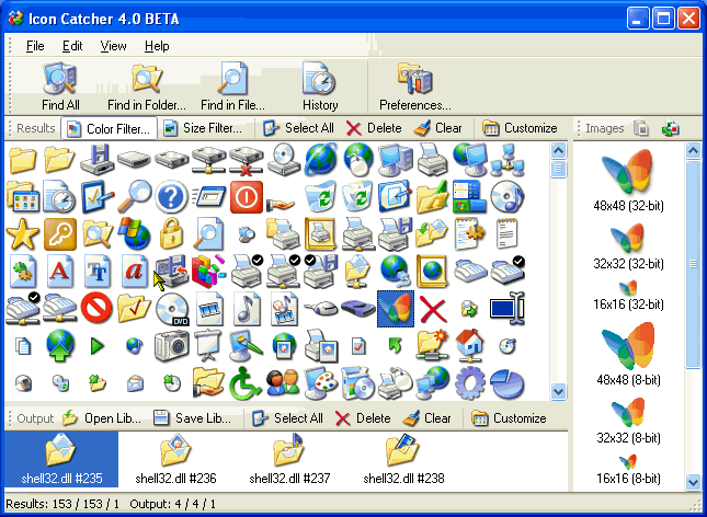 Icon Catcher Screenshot