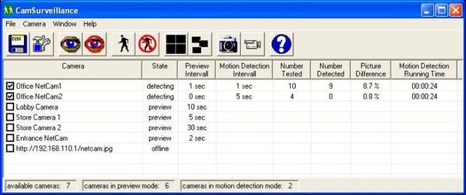 CamSurveillance Screenshot
