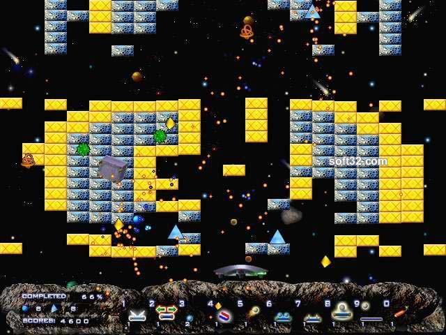 Arkanoid The Virtual Isles Screenshot 1