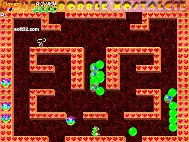 Bubble Bobble Nostalgie Screenshot