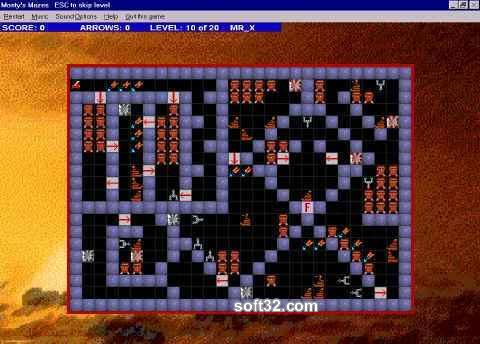 Montys Mazes Screenshot