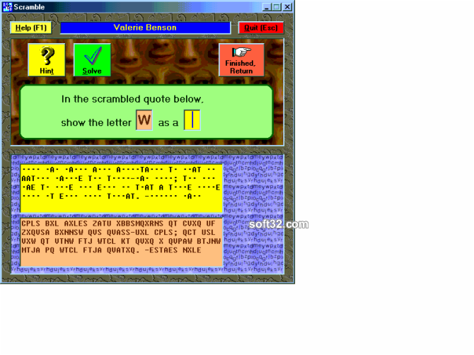 Scramble Screenshot 2