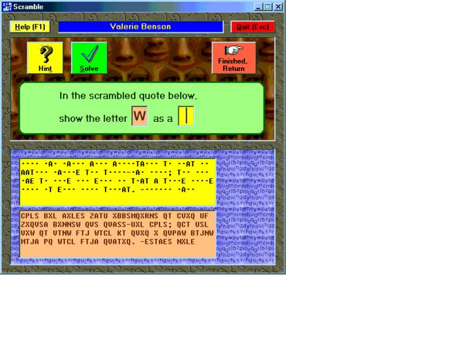 Scramble Screenshot