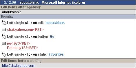 PC Activity Monitor Net (PC Acme Net) Screenshot