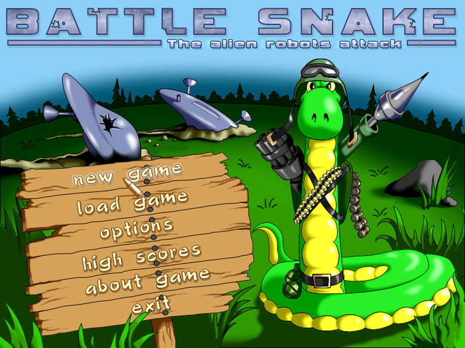 Battle Snake Screenshot