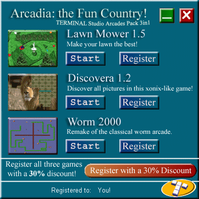 Arcadia: the Fun Country Screenshot
