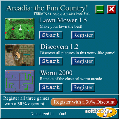 Arcadia: the Fun Country Screenshot 2